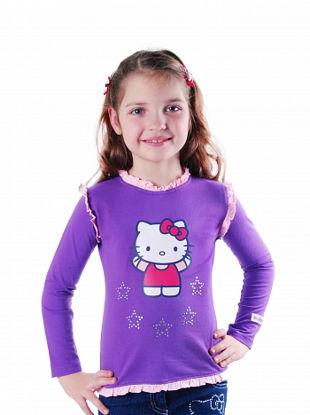 "Изображение Кофта ""Hello Kitty"" (фиолетовая)"