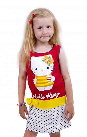 "Изображение Платье без рукавов ""Hello Kitty"""