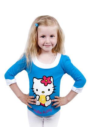 "Изображение Футболка ""Hello Kitty"", рукава 3/4"