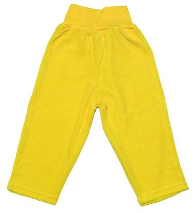 Изображение Штанишки велюровые (желтые)