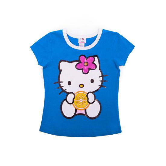 """Изображение Футболка """"Hello Kitty"""" (бирюзовая)"""