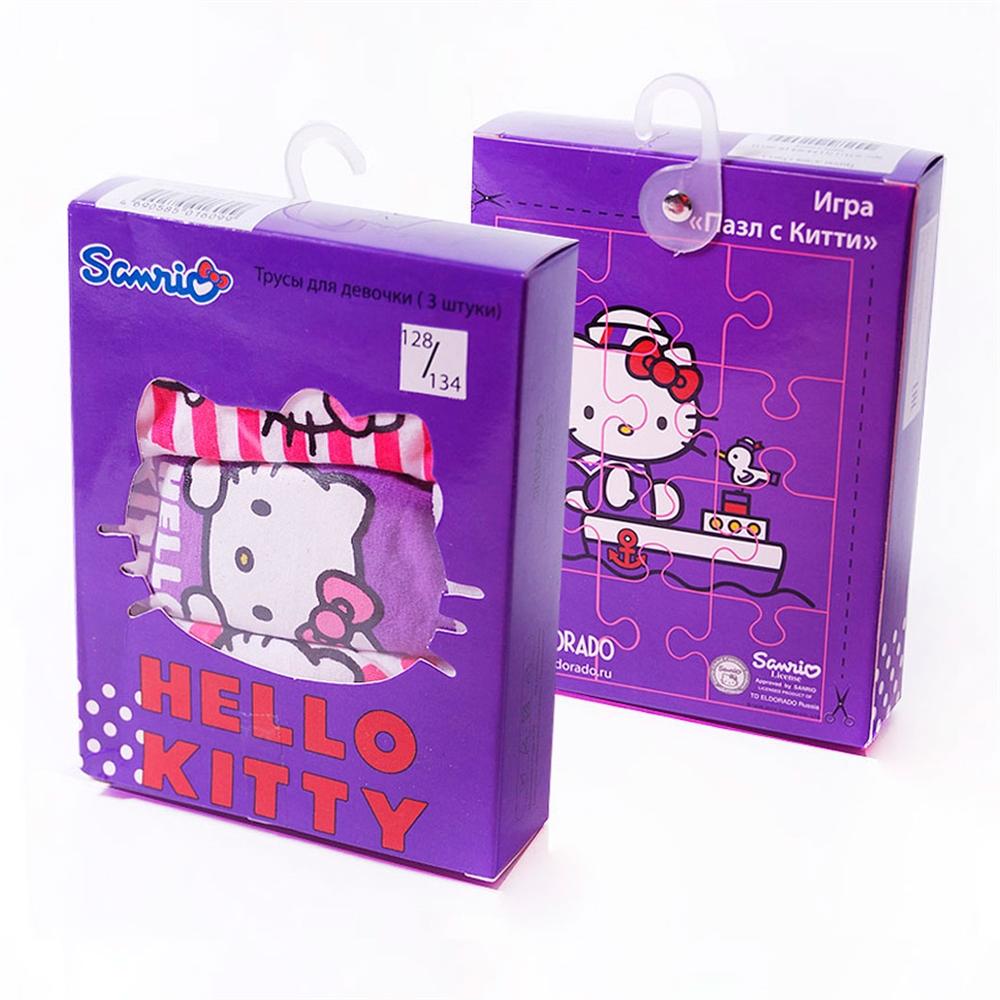 "Изображение Комплект трусов ""Hello Kitty красавица"", 3 шт в коробке"