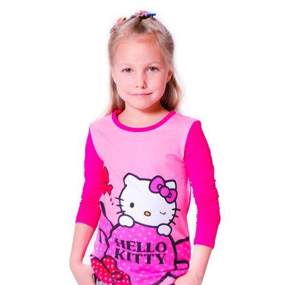 "Изображение Кофта ""Hello Kitty малинка"", розовая"