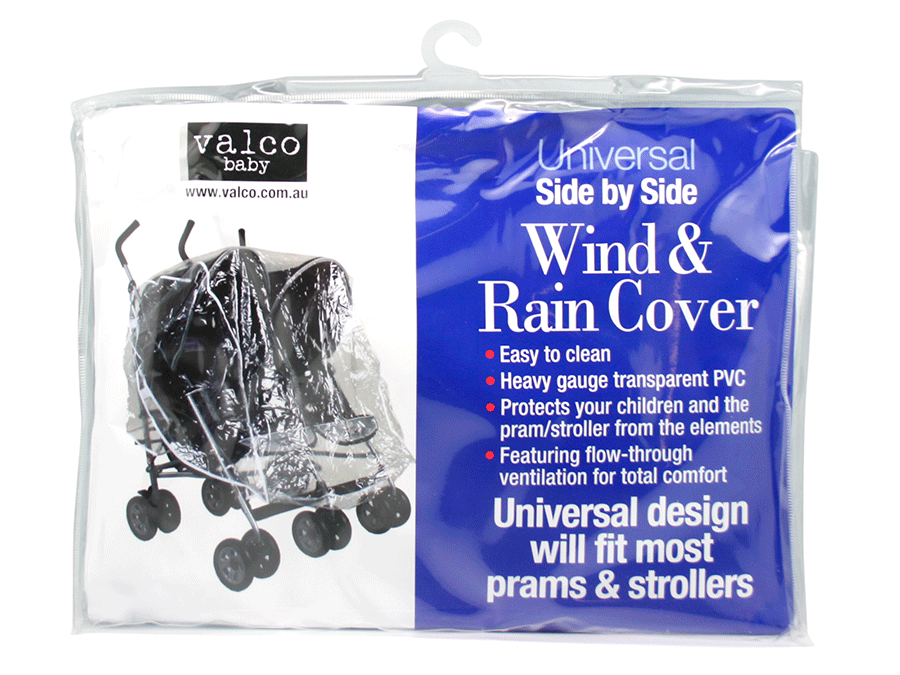 Изображение Универсальный дождевик для двойни Valco Baby Raincover