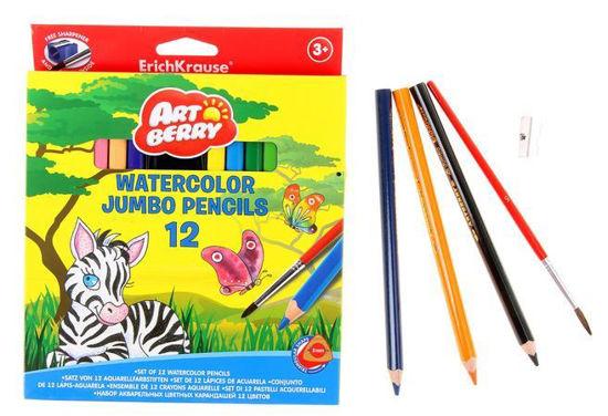 Изображение Акварельные карандаши 12 цветов ArtBerry