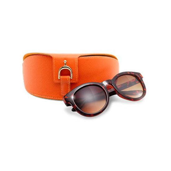 Изображение Солнцезащитные очки в футляре Апельсин