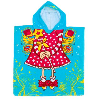Изображение Детское полотенце почно с капюшоном Маленькая фея 60 х 120 см