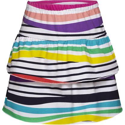 Изображение Трикотажная юбка для девочки, цвет мультиколор