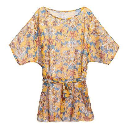 Изображение Пляжное платье «Ориентал», цвет желтый