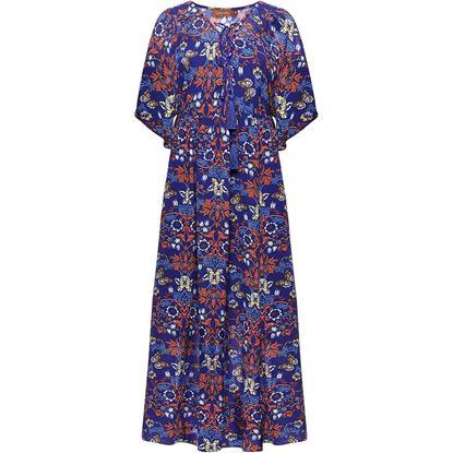 Изображение Длинное платье, цвет мультиколор