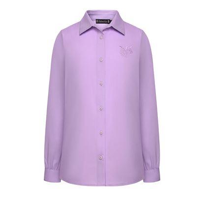 Изображение Блузка для девочки, цвет фиолетовый
