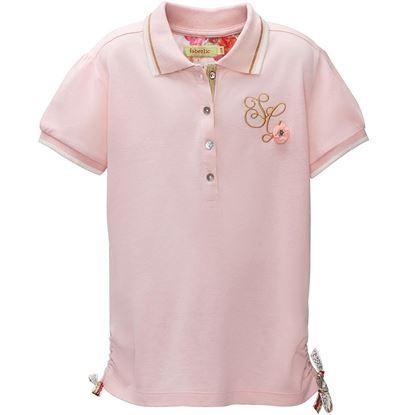 Изображение Блузка для девочки, цвет светло-розовый