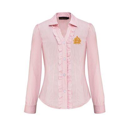 Изображение Блузка с длинными рукавами для девочки, цвет светло-розовый