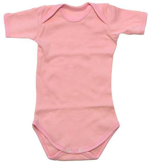 Изображение Боди с короткими рукавами (светло-розовый)