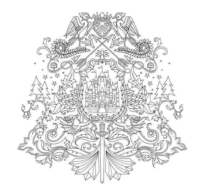 Изображение Зачарованный лес. Книга для творчества и вдохновения, Издательство КоЛибри