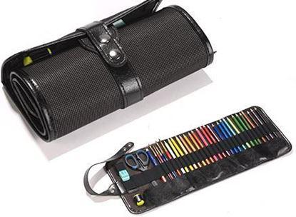 Изображение Пенал roll up для 36 карандашей цвет черный
