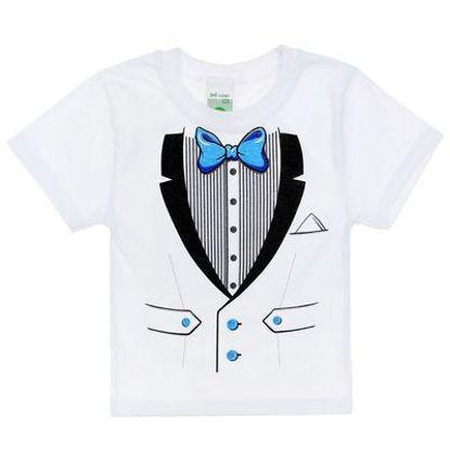 """Изображение Нарядная футболка для мальчика """"Джентльмен"""""""