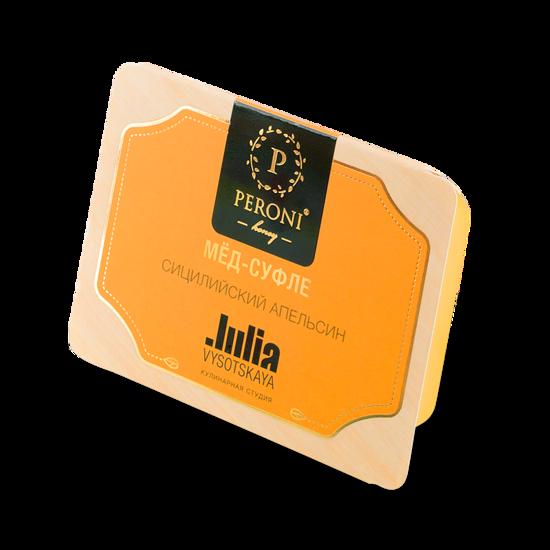 Изображение Peroni Мёд-суфле MINI Сицилийский апельсин в картонной обечайке, 2х25мл