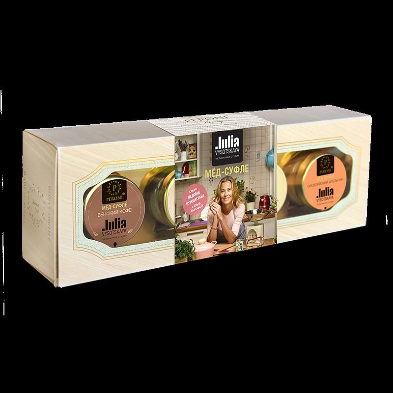 Изображение Peroni Подарочный набор Медовое путешествие с Юлией Высоцкой