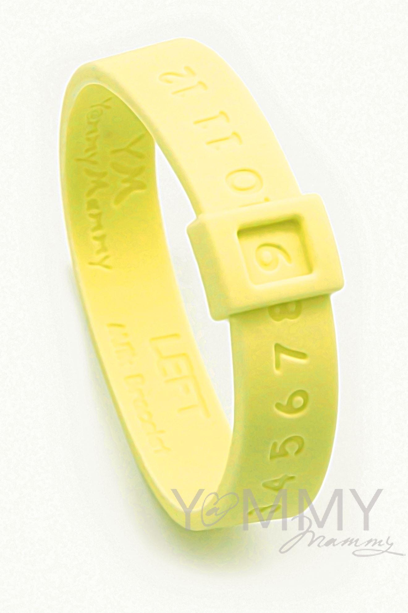 Изображение Молочный браслет желтый