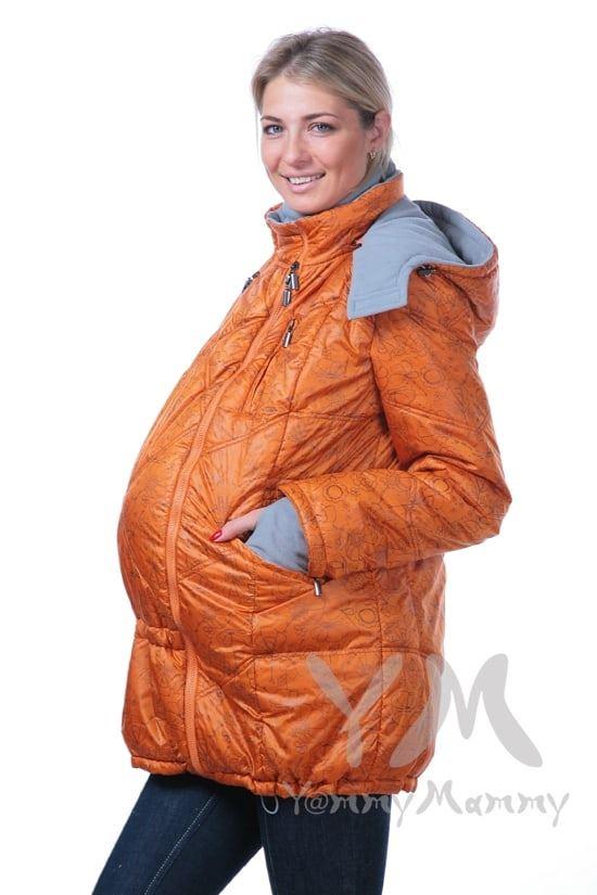 Изображение                               Демисезонная куртка 3 в 1 терракотовая