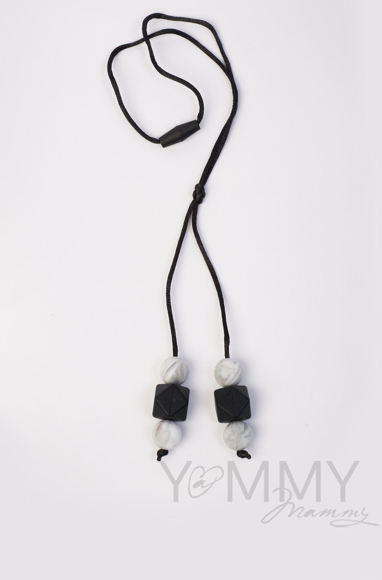 Изображение                               Слингобусы-подвеска в серо-черной гамме