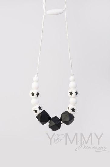 Изображение                               Слингобусы в черно-белой гамме со звездами