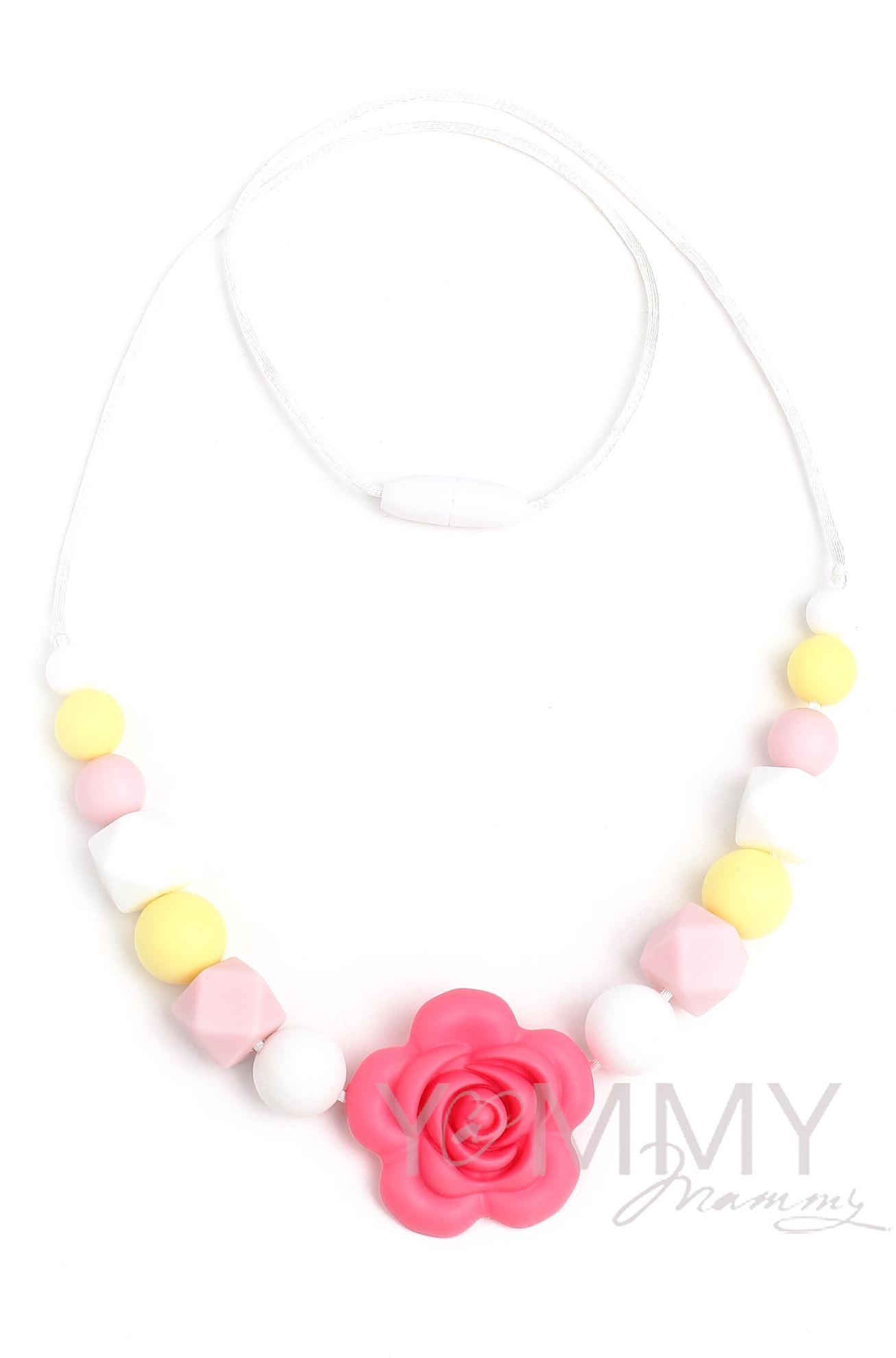 Изображение                               Слингобусы с цветком в розово-желто-белой гамме