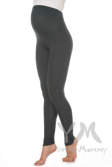 Изображение                               Лосины для беременных антрацит из модала