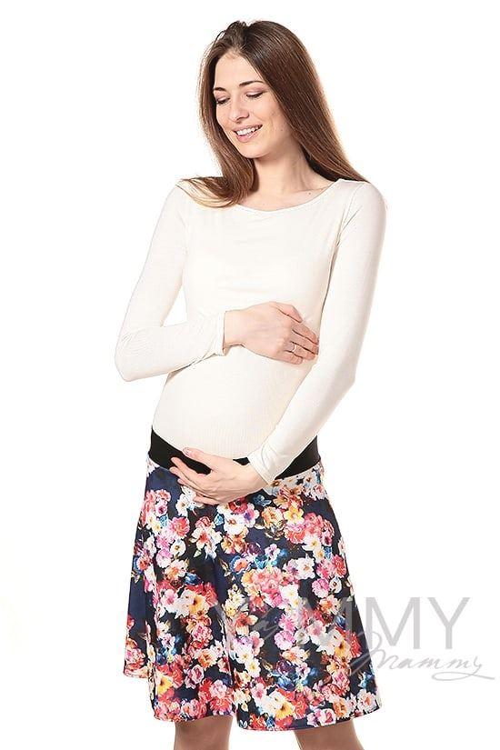 Изображение                               Юбка с цветочным принтом