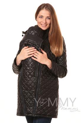 Изображение                               Куртка 3 в 1 стеганная черная