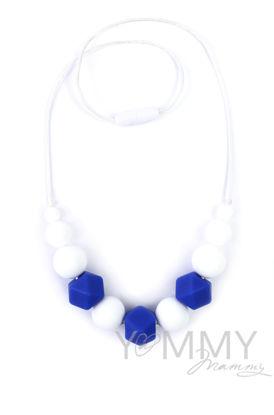 Изображение                             Слингобусы в бело-синей гамме