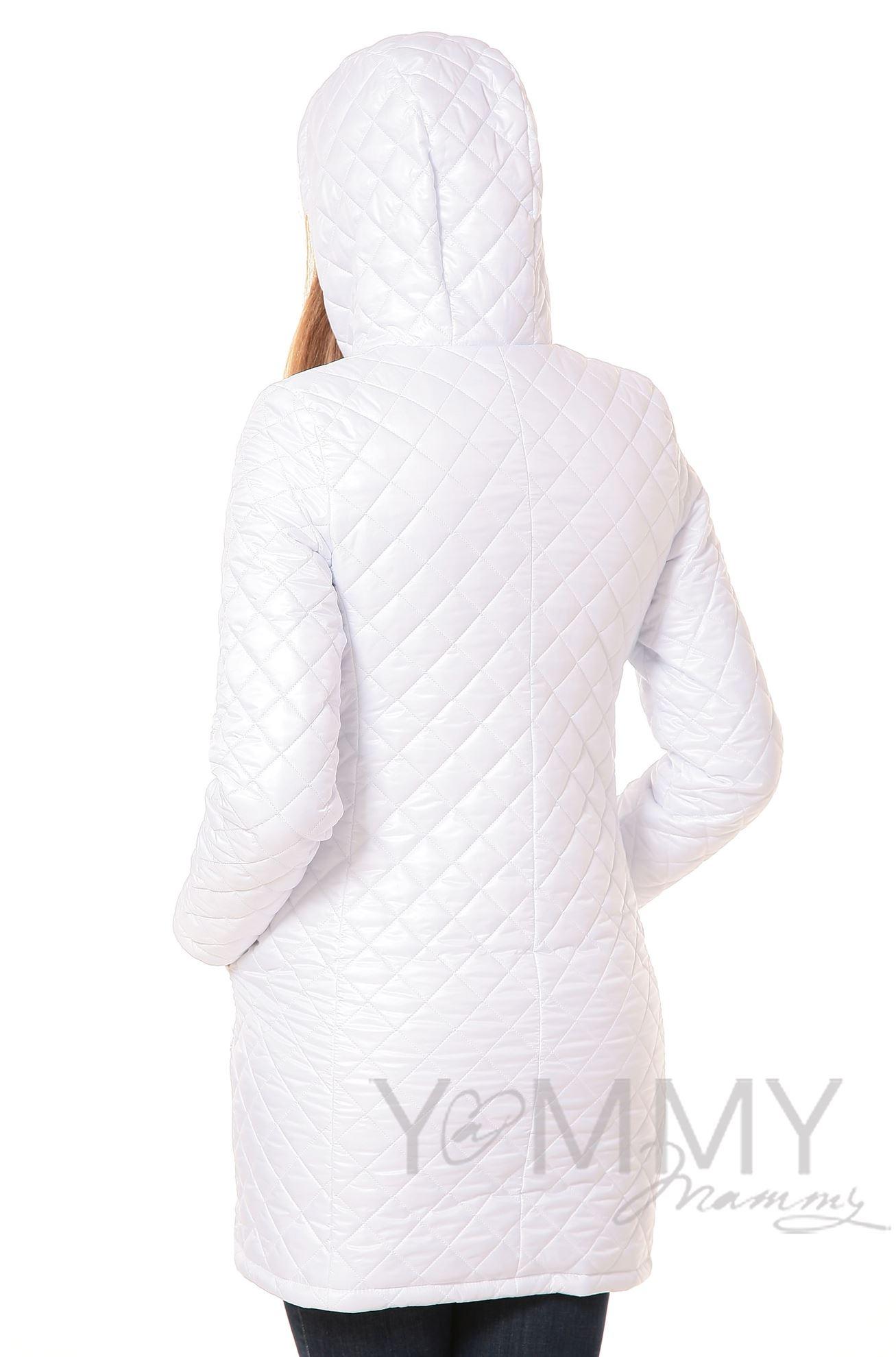Изображение                               Куртка 3 в 1 стеганная белая