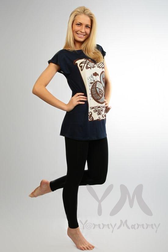 Изображение                               Лосины черные из модала