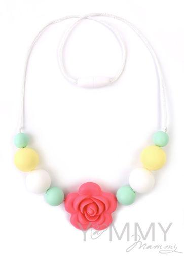 Изображение                               Слингобусы с цветком розово-желто-ментоловые