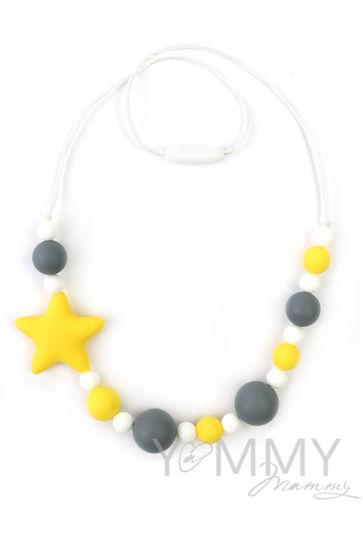 Изображение                               Слингобусы со звездой в серо-желтой гамме