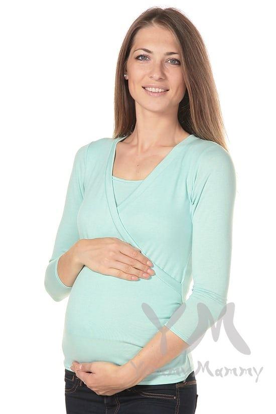 Изображение                               Блуза на запах ментол