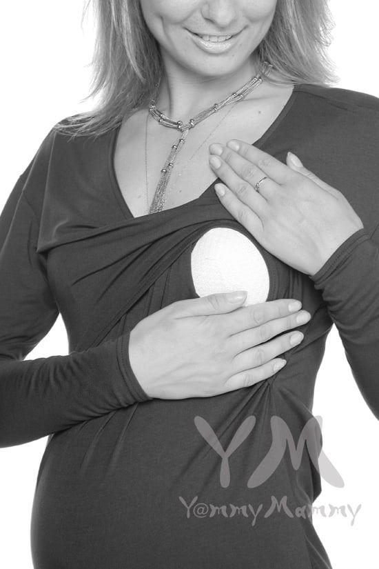 Изображение                               Туника с драпировкой на спине антрацит