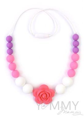 Изображение                             Слингобусы c цветком в розово-бело-сиреневой гамме