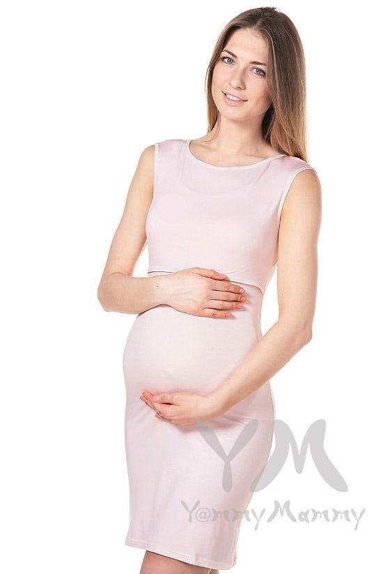 Изображение                               Платье для дома и сна нежно-розовое