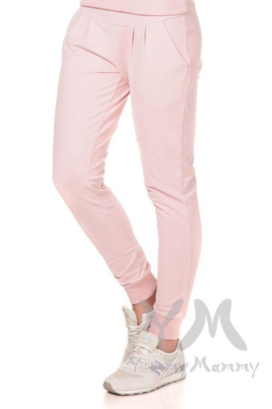 Изображение                               Универсальные спортивные брюки жемчужно-розовые