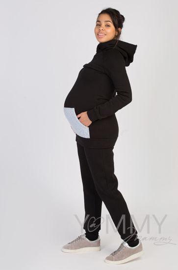 Изображение                               Универсальные брюки с начесом черные
