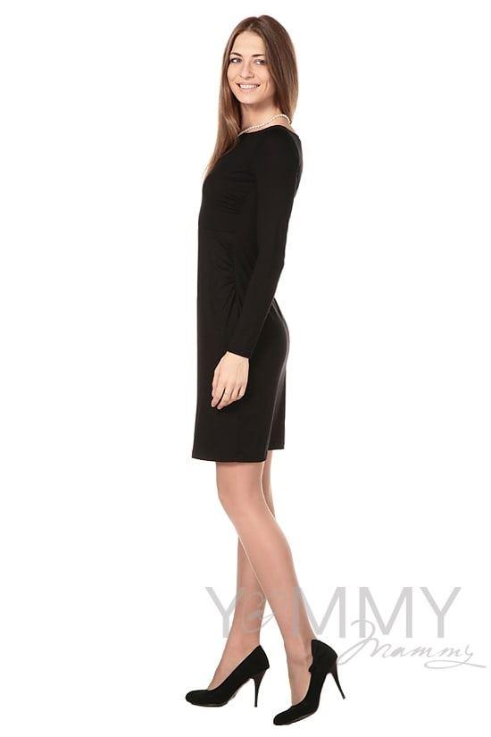 Изображение                               Платье из модала чёрное