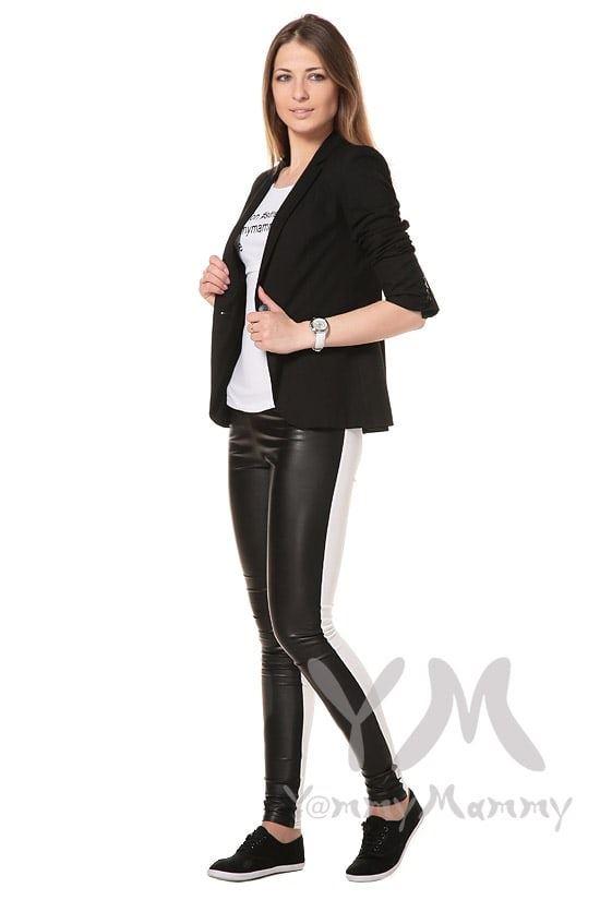 Изображение                               Универсальные брюки из эко-кожи