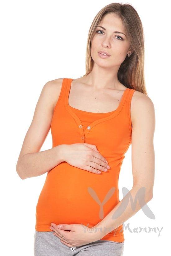 Изображение                               Майка поло оранжевая