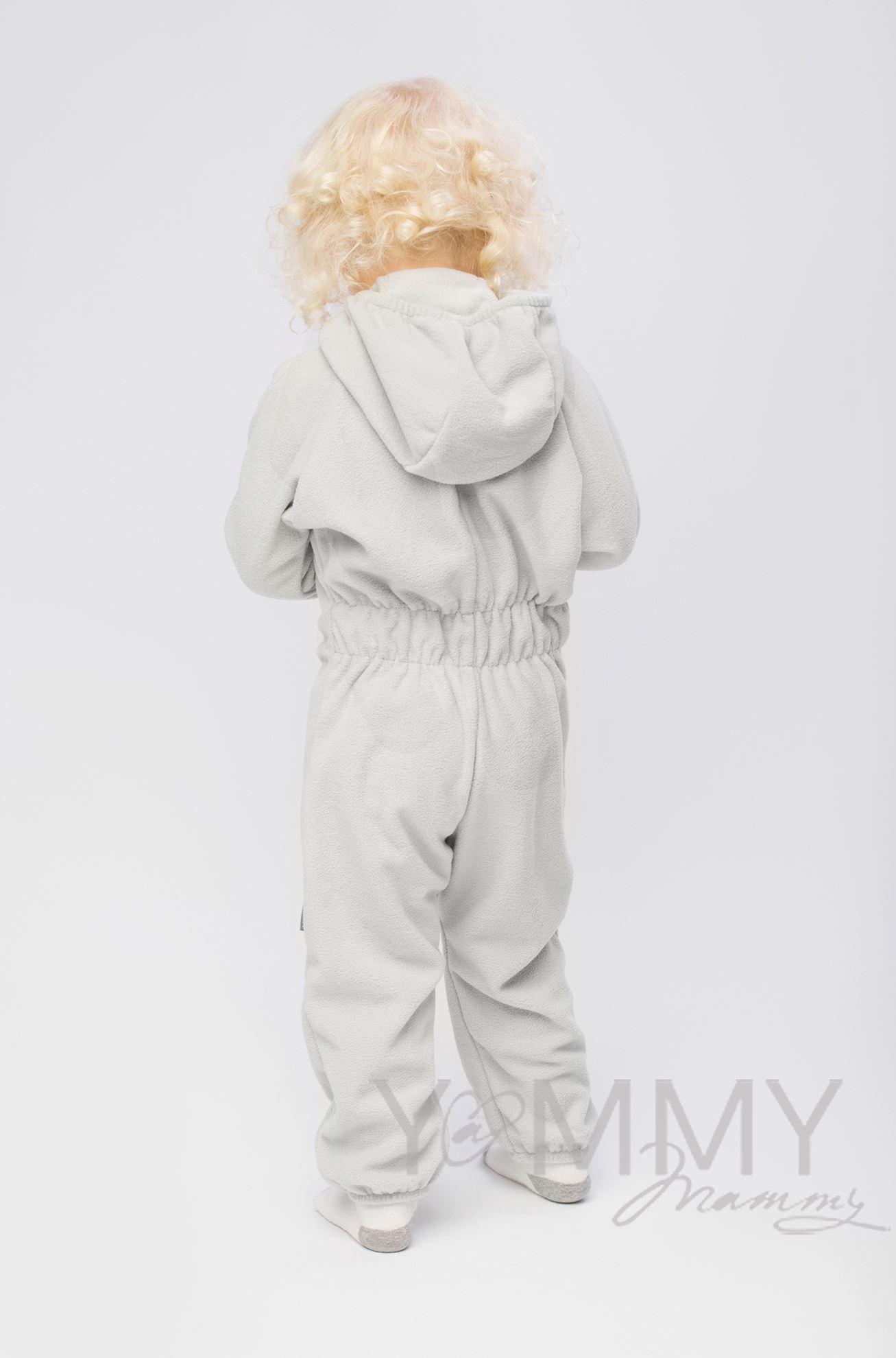 Изображение                               Слингокомбинезон детский светло-серый
