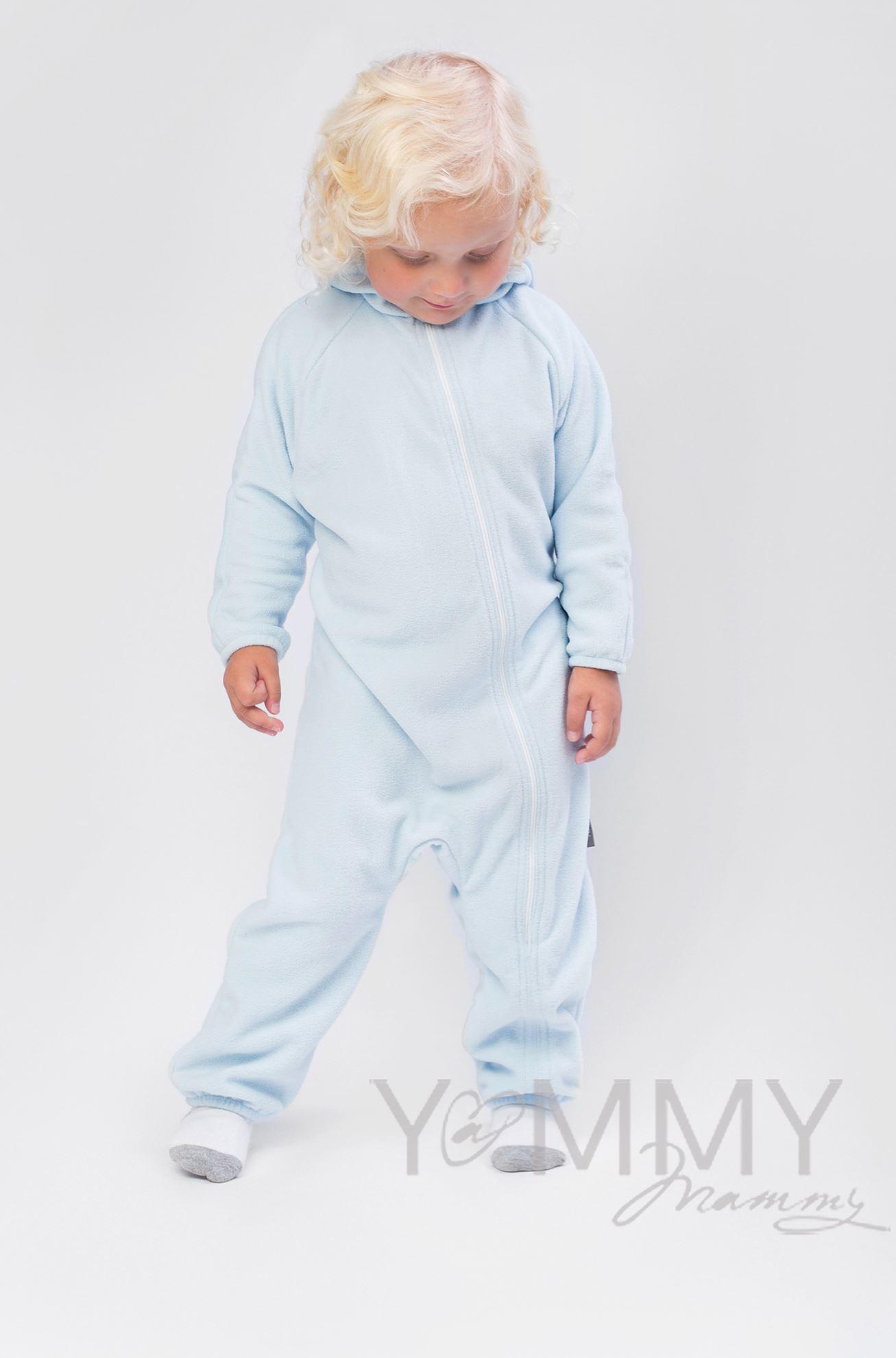 Изображение                               Слингокомбинезон детский светло-голубой
