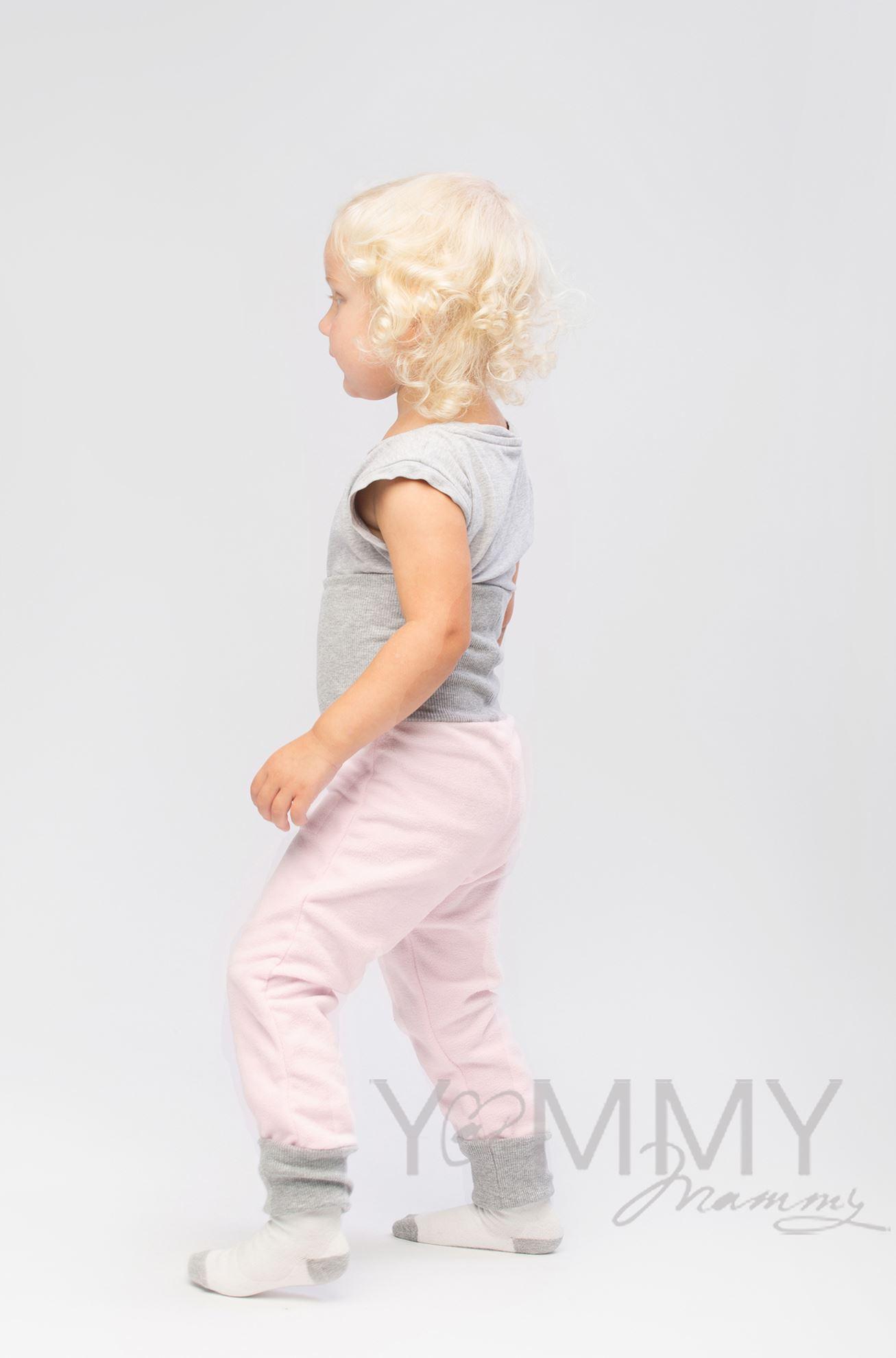 Изображение                               Слингоштанишки флисовые св. розовые