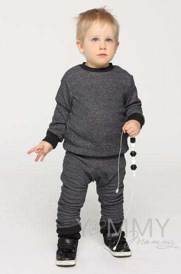 Изображение                               Детский костюм серый