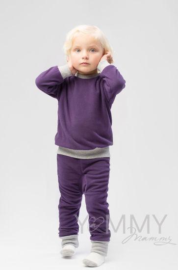 Изображение                             Детский флисовый костюм виноград